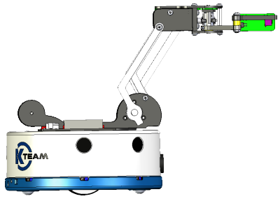 Khepera IV with K4 gripper